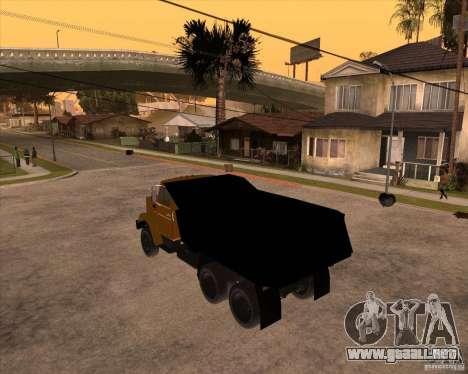 ZIL MMZ 4516 para GTA San Andreas left