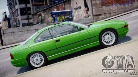BMW 850i E31 1989-1994 para GTA 4 interior