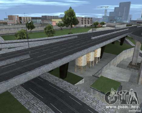Nuevos caminos para GTA San Andreas quinta pantalla