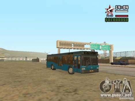 MAZ-103S para GTA San Andreas left