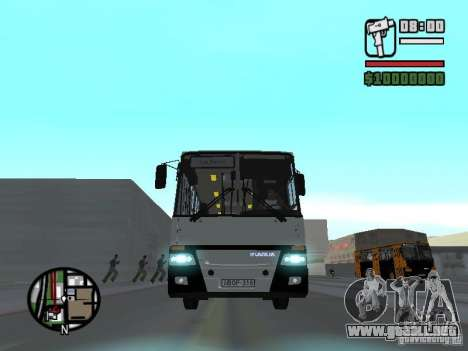 Ikarus 260.06 para visión interna GTA San Andreas