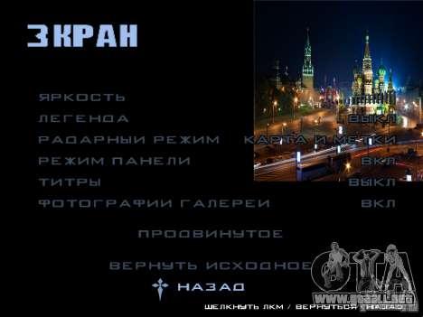 Pantalla de arranque de Moscú para GTA San Andreas novena de pantalla