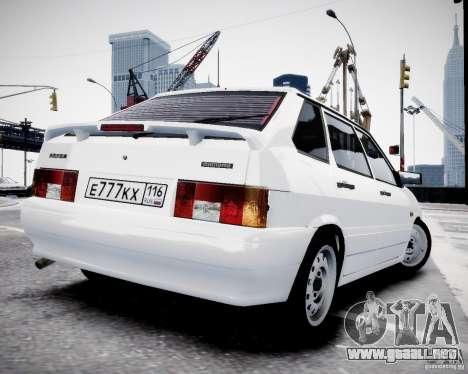 ВАЗ 2114 para GTA 4 left