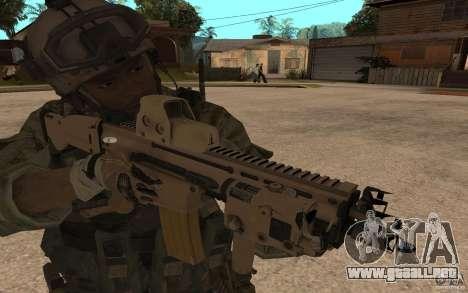 SCAR FN MK16 para GTA San Andreas