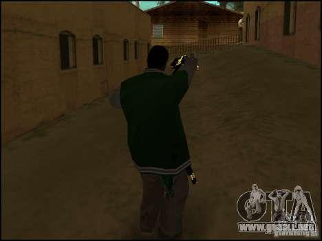 Arma en la mano para GTA San Andreas segunda pantalla
