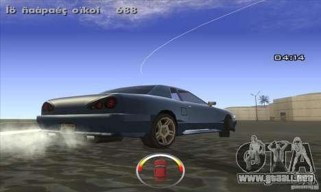 CLEO DRIFT Beta para GTA San Andreas segunda pantalla