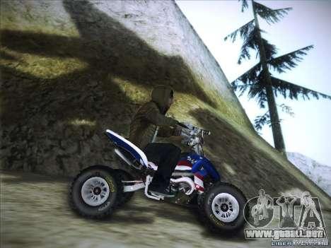 Bike Pure para GTA San Andreas vista hacia atrás