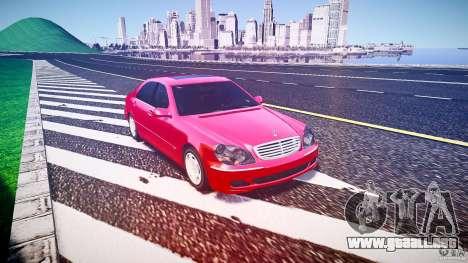 Mercedes-Benz S600 para GTA 4 visión correcta