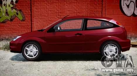 Ford Focus SVT para GTA 4 vista interior