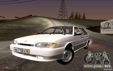 ВАЗ 2114 calidad para GTA San Andreas