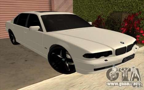 BMW 750iL E38 para GTA San Andreas