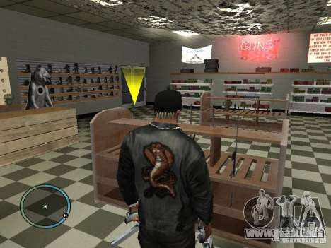 Russian Ammu-nation para GTA San Andreas quinta pantalla