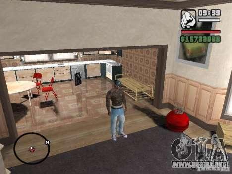 Ami James & Chris Nunez Tattoo para GTA San Andreas quinta pantalla