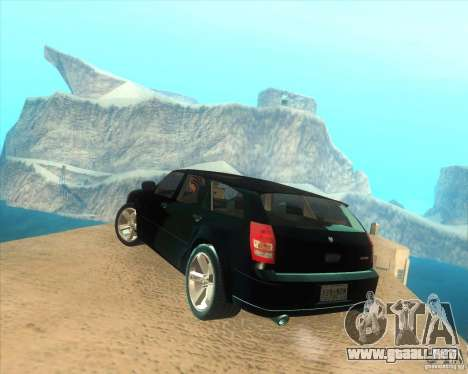 Dodge Magnum RT 2008 v.2.0 para GTA San Andreas left