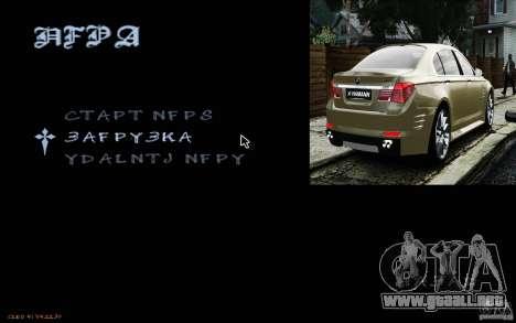 HUD de M0r1s para GTA San Andreas tercera pantalla