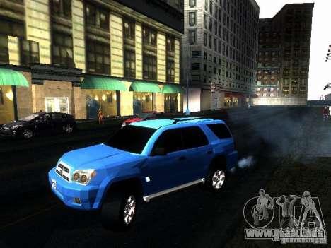 Toyota 4Runner 2009 para la visión correcta GTA San Andreas