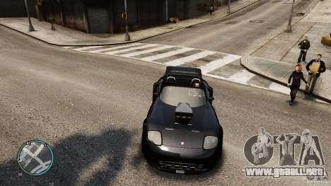 Blue Neon Banshee para GTA 4 visión correcta
