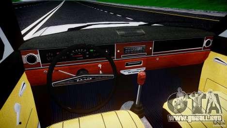 GAZ 24-12 1986-1994 Stock Edition v2.2 para GTA 4 vista superior