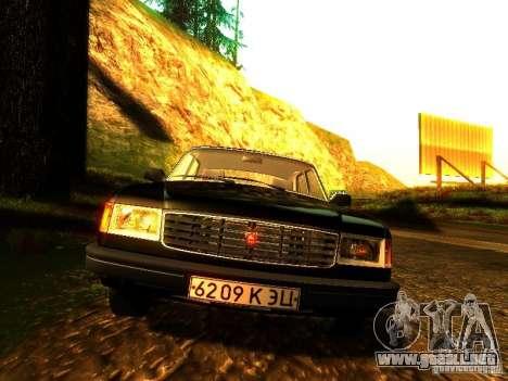 Volga GAZ 31029 para visión interna GTA San Andreas