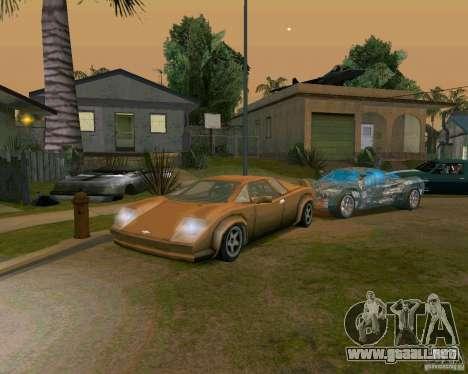 Infernus from Vice City para GTA San Andreas