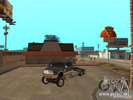 Dodge Ram para la visión correcta GTA San Andreas