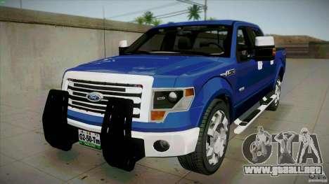Ford Lobo Lariat Ecoboost 2013 para GTA San Andreas