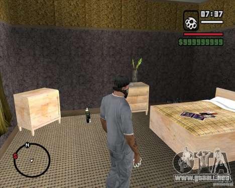 Sustitución de la CJeâ casa entera para GTA San Andreas quinta pantalla