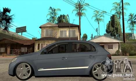 Volkswagen Gol G5 para GTA San Andreas left