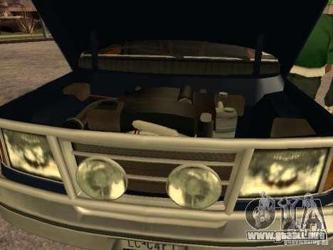 HD Columb para la visión correcta GTA San Andreas