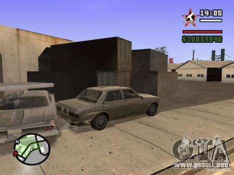 ENBSeries para FX 5200 GForce v3.0 para GTA San Andreas sucesivamente de pantalla