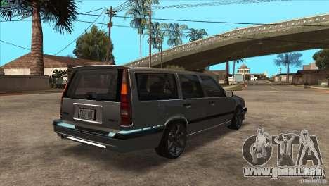 Volvo 850 R para la visión correcta GTA San Andreas
