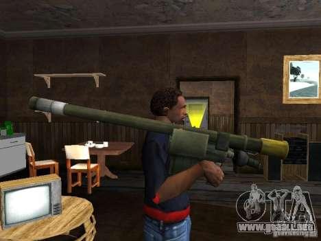 MANPADS aguja 2 para GTA San Andreas segunda pantalla