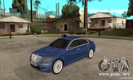 Hyundai Genesis para GTA San Andreas