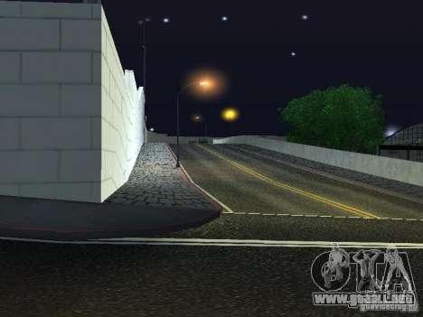 Nuevo salón del automóvil Wang Cars para GTA San Andreas tercera pantalla