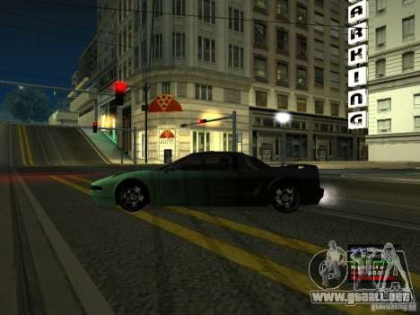 Teal Infernus para GTA San Andreas left