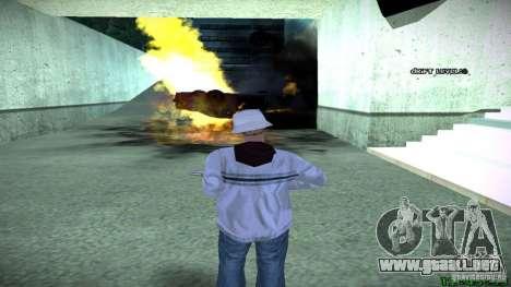 Nuevos efectos 1.0 para GTA San Andreas