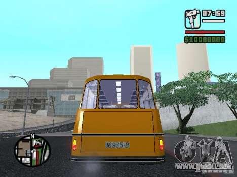 TV 7 para GTA San Andreas vista posterior izquierda