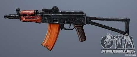 AKS74U para GTA San Andreas tercera pantalla