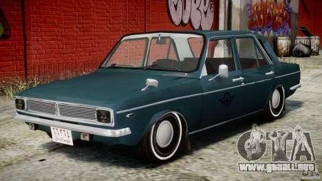Peykan 1348 1970 para GTA 4 vista lateral
