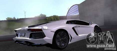 Lamborghini Aventador LP700-4 Final para GTA San Andreas left