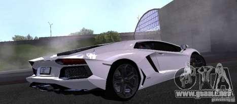 Lamborghini Aventador LP700-4 Final para GTA San Andreas left
