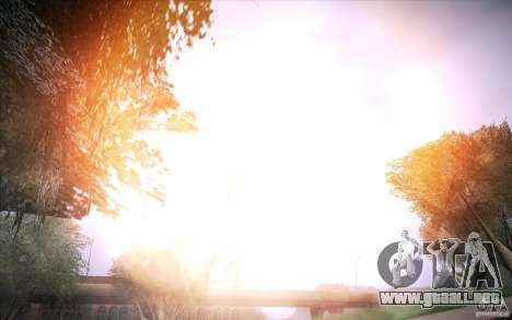 Lensflare 1.1 Final para GTA San Andreas segunda pantalla