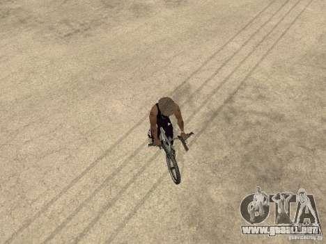Ocultar-conseguir armas en el coche para GTA San Andreas quinta pantalla