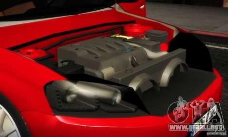Volkswagen Passat B7 2012 para visión interna GTA San Andreas