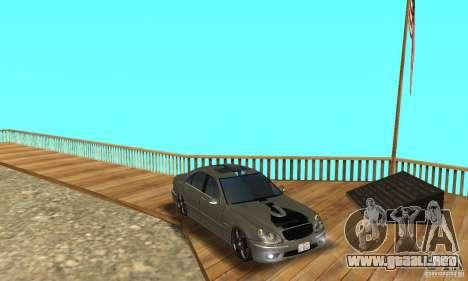 Mercedes Benz AMG S65 DUB para vista lateral GTA San Andreas
