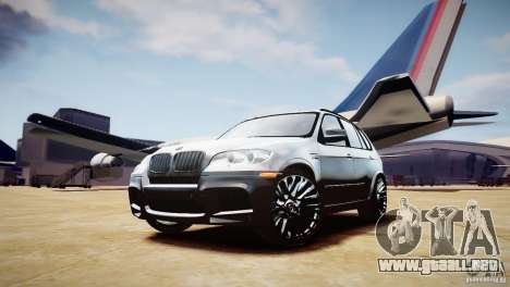 BMW X5M 2011 para GTA 4 vista interior