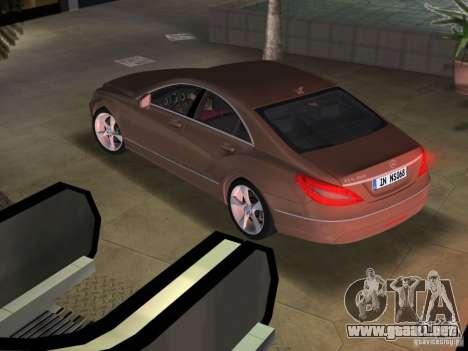 Mercedes-Benz CLS350 para GTA Vice City left