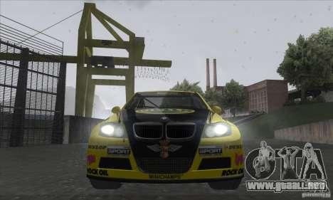 BMW 320i GRID para visión interna GTA San Andreas