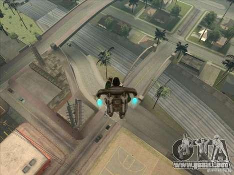 Saltar el Jet pack para GTA San Andreas segunda pantalla