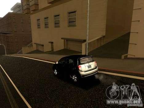 Scion xD para la vista superior GTA San Andreas
